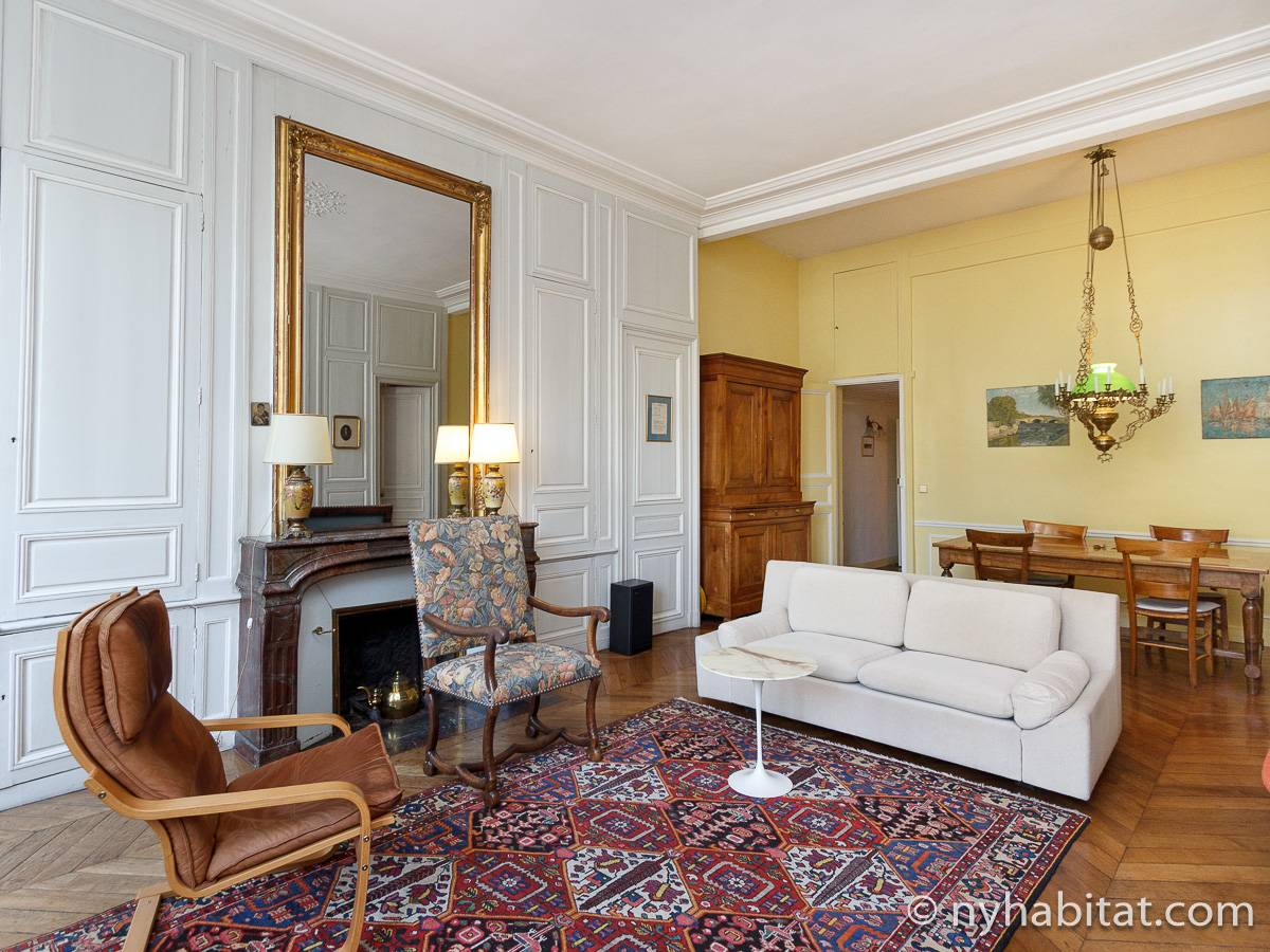 Paris - 3 Bedroom accommodation - Apartment reference PA-4461