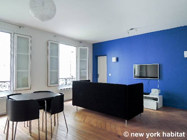 Paris - 2 Bedroom accommodation - Apartment reference PA-4482