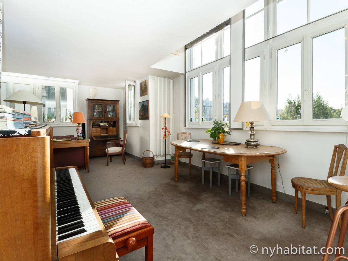 Paris - 2 Bedroom accommodation - Apartment reference PA-4514