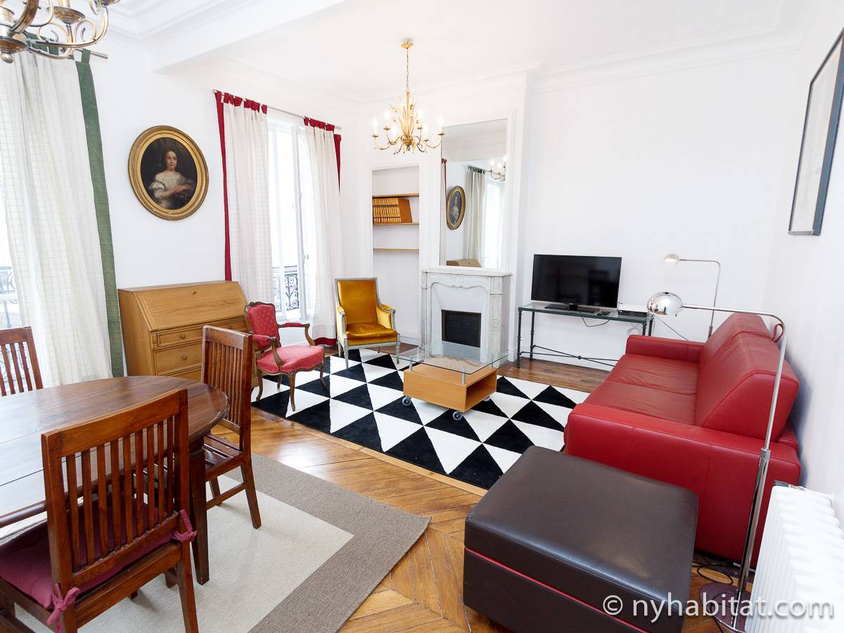 Paris - 1 Bedroom accommodation - Apartment reference PA-4516