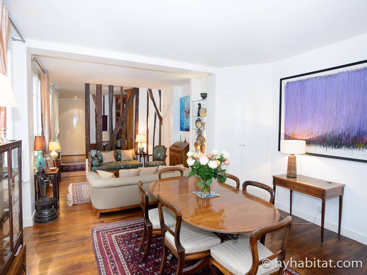 Paris - 2 Bedroom accommodation - Apartment reference PA-4526