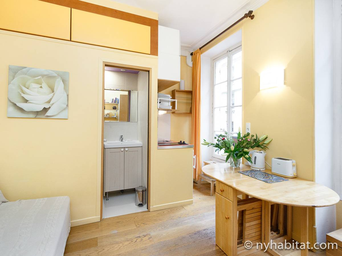 Paris - Studio apartment - Apartment reference PA-4570