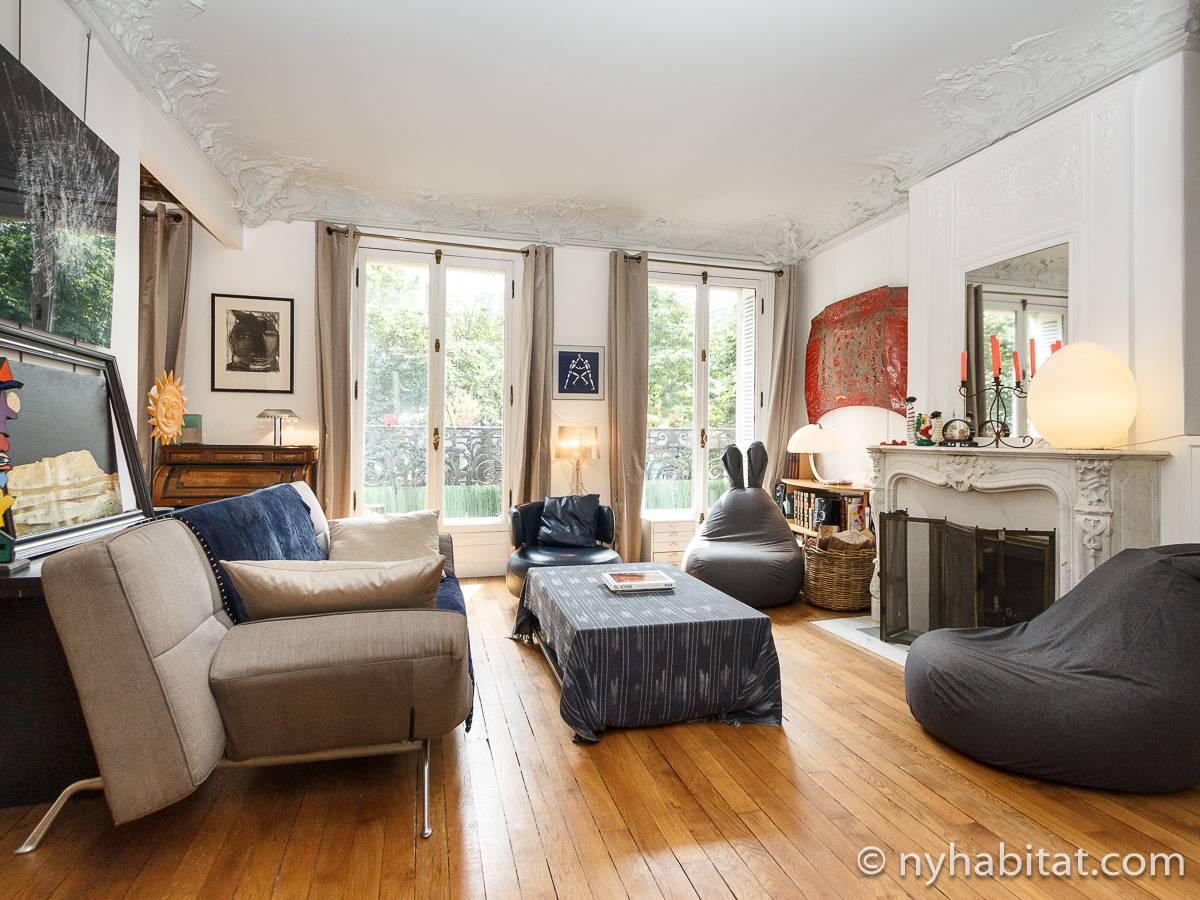 Paris - 2 Bedroom accommodation - Apartment reference PA-4635