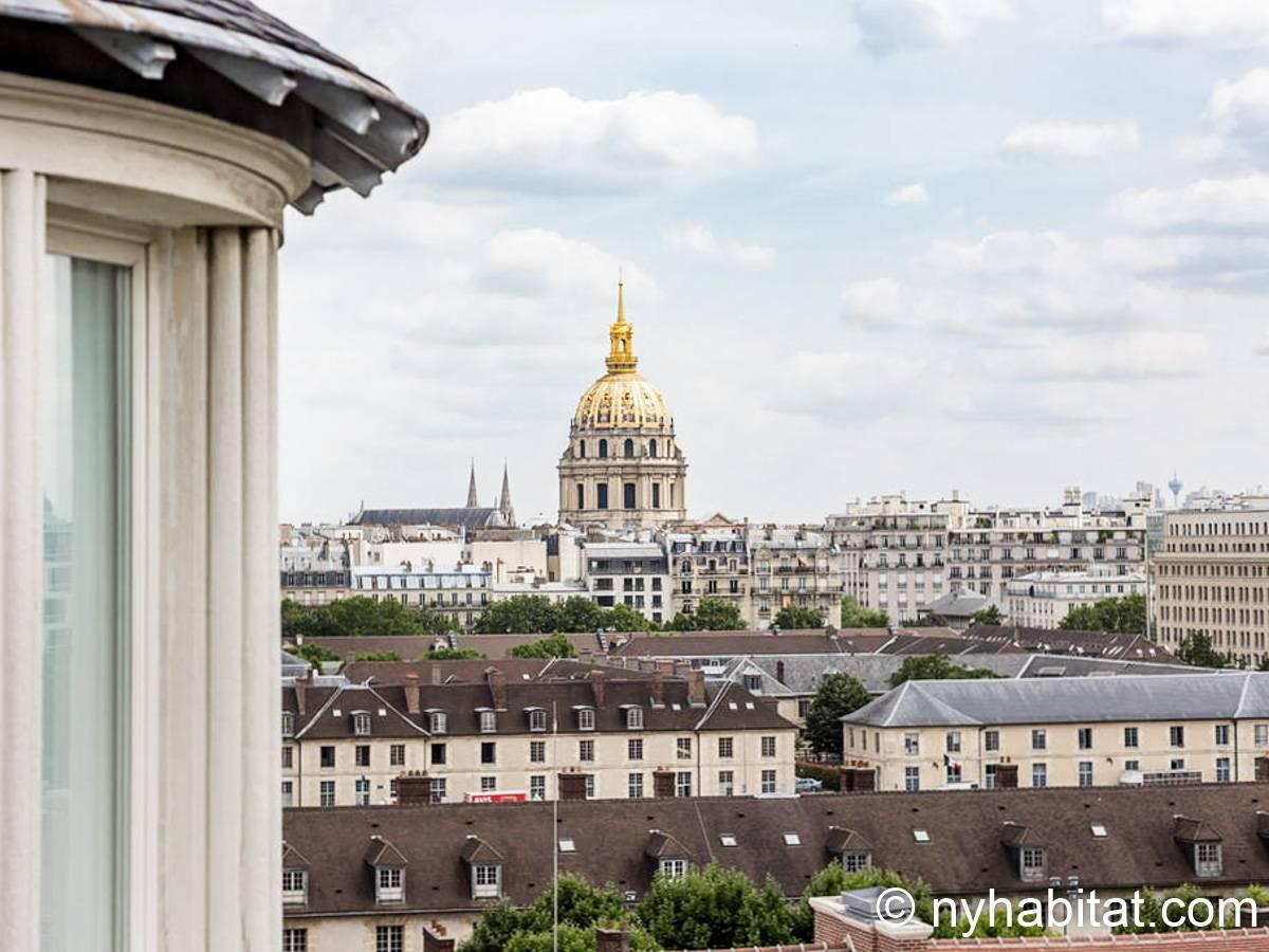 Logement paris location meubl e studio t1 champ de mars eiffel tower gare montparnasse - Location meublee paris 15 ...