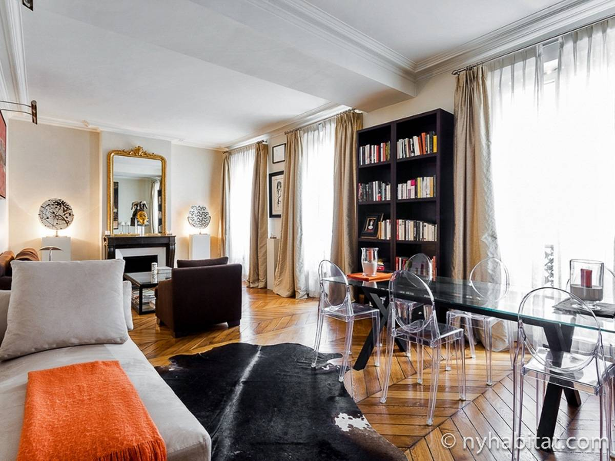 Paris - 1 Bedroom accommodation - Apartment reference PA-4680