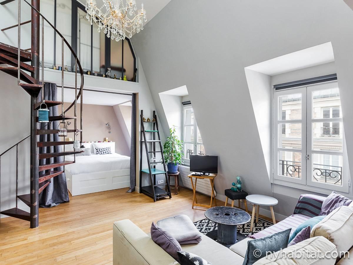 Casa vacanza a parigi 3 camere da letto sacr coeur pa 4687 - Casa vacanza a parigi ...