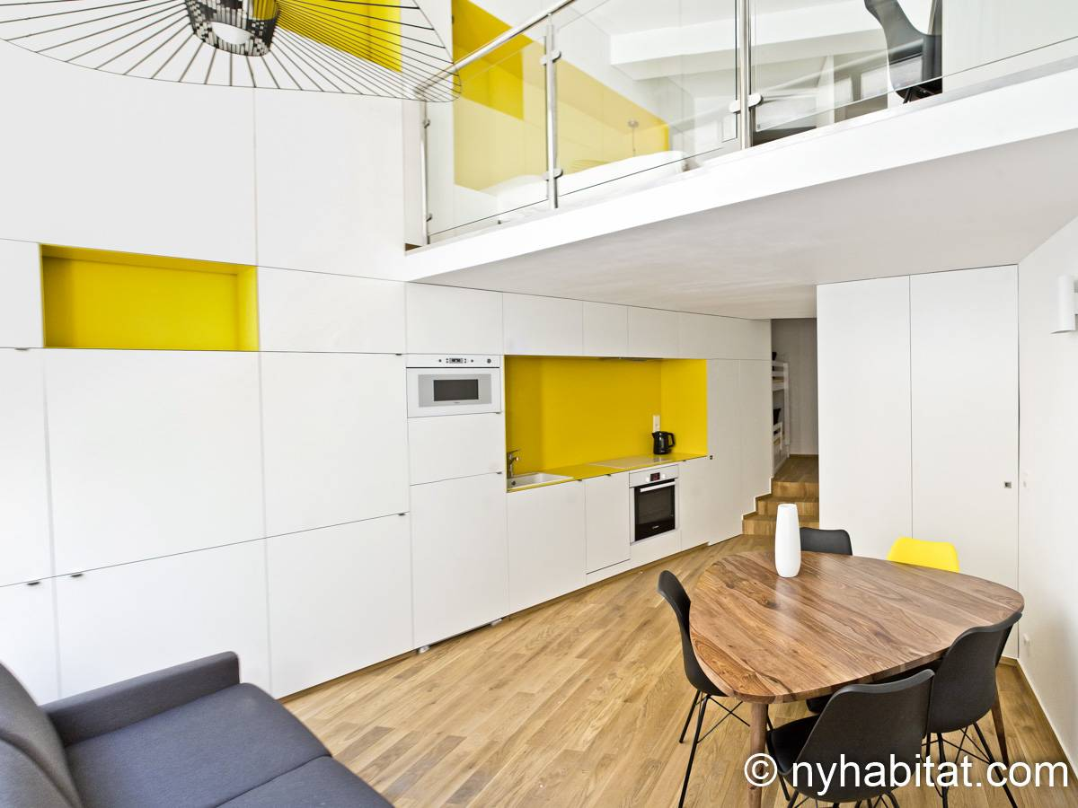 Paris - 1 Bedroom accommodation - Apartment reference PA-4721