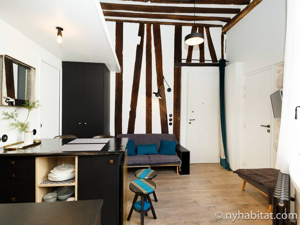Paris - 1 Bedroom apartment - Apartment reference PA-4722