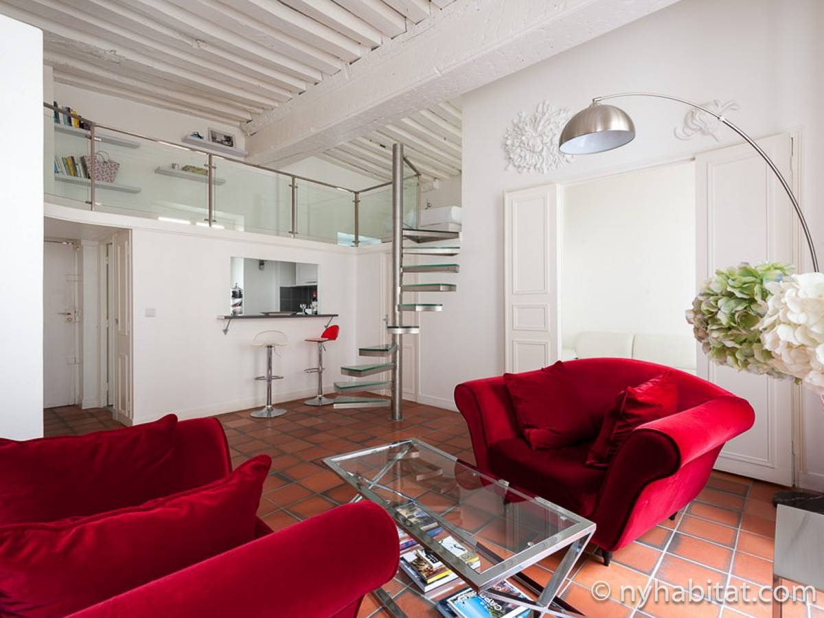 Paris - 2 Bedroom accommodation - Apartment reference PA-4728