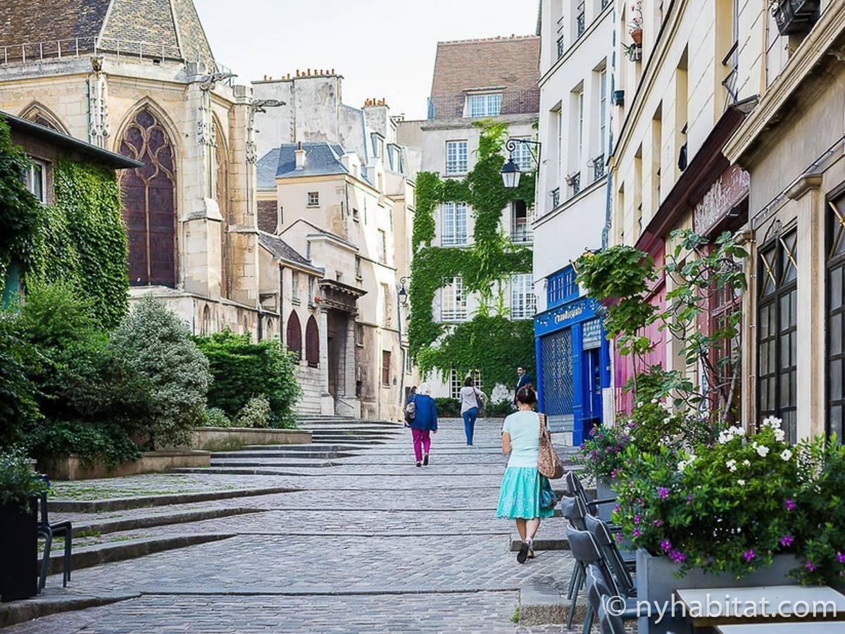 Casa vacanza a parigi 2 camere da letto le marais pa - Casa vacanza a parigi ...