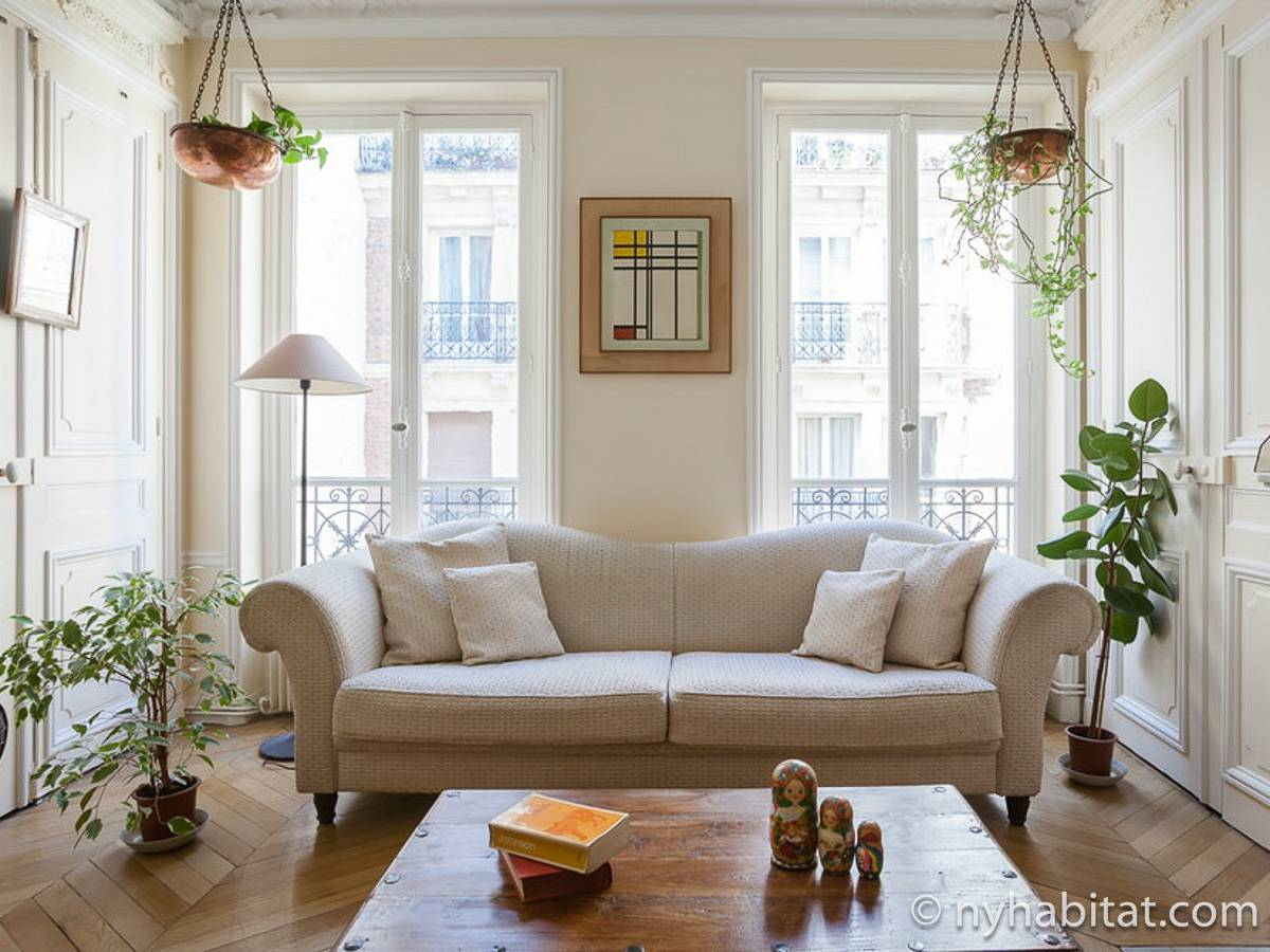 Paris - 2 Bedroom accommodation - Apartment reference PA-4729