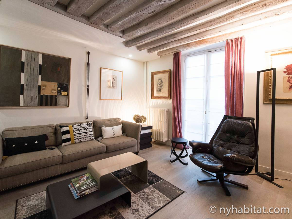 Paris - 1 Bedroom accommodation - Apartment reference PA-4752