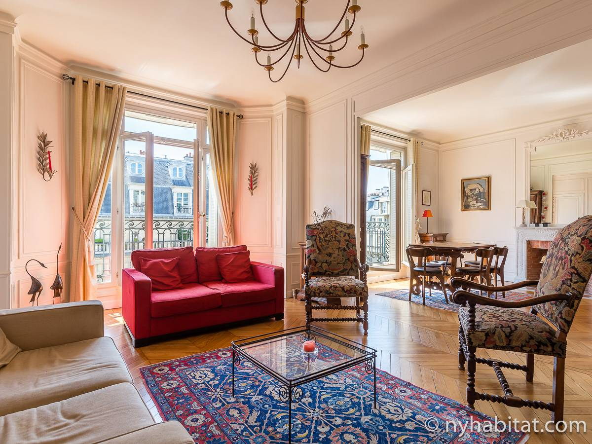 Paris - 1 Bedroom accommodation - Apartment reference PA-4753