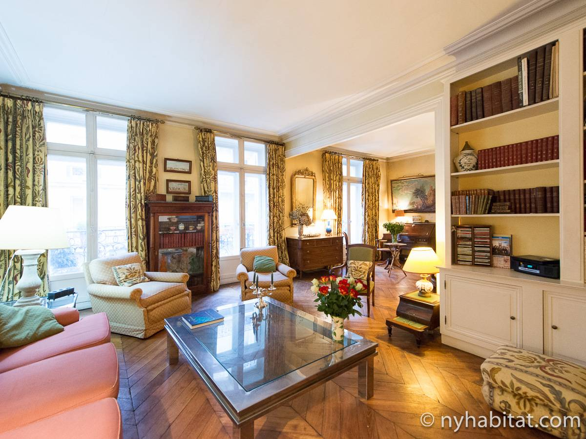 Paris - 2 Bedroom accommodation - Apartment reference PA-4754