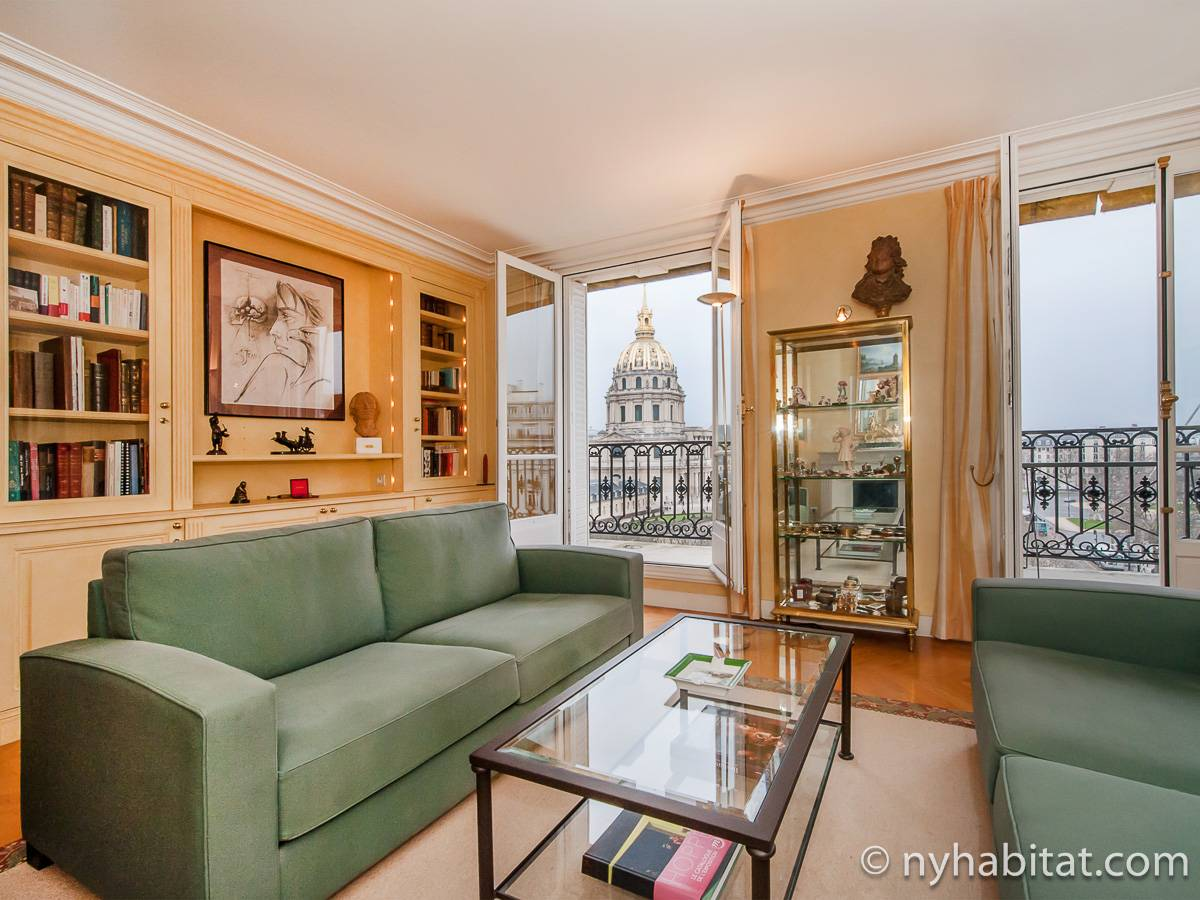 Paris - 2 Bedroom apartment - Apartment reference PA-4760
