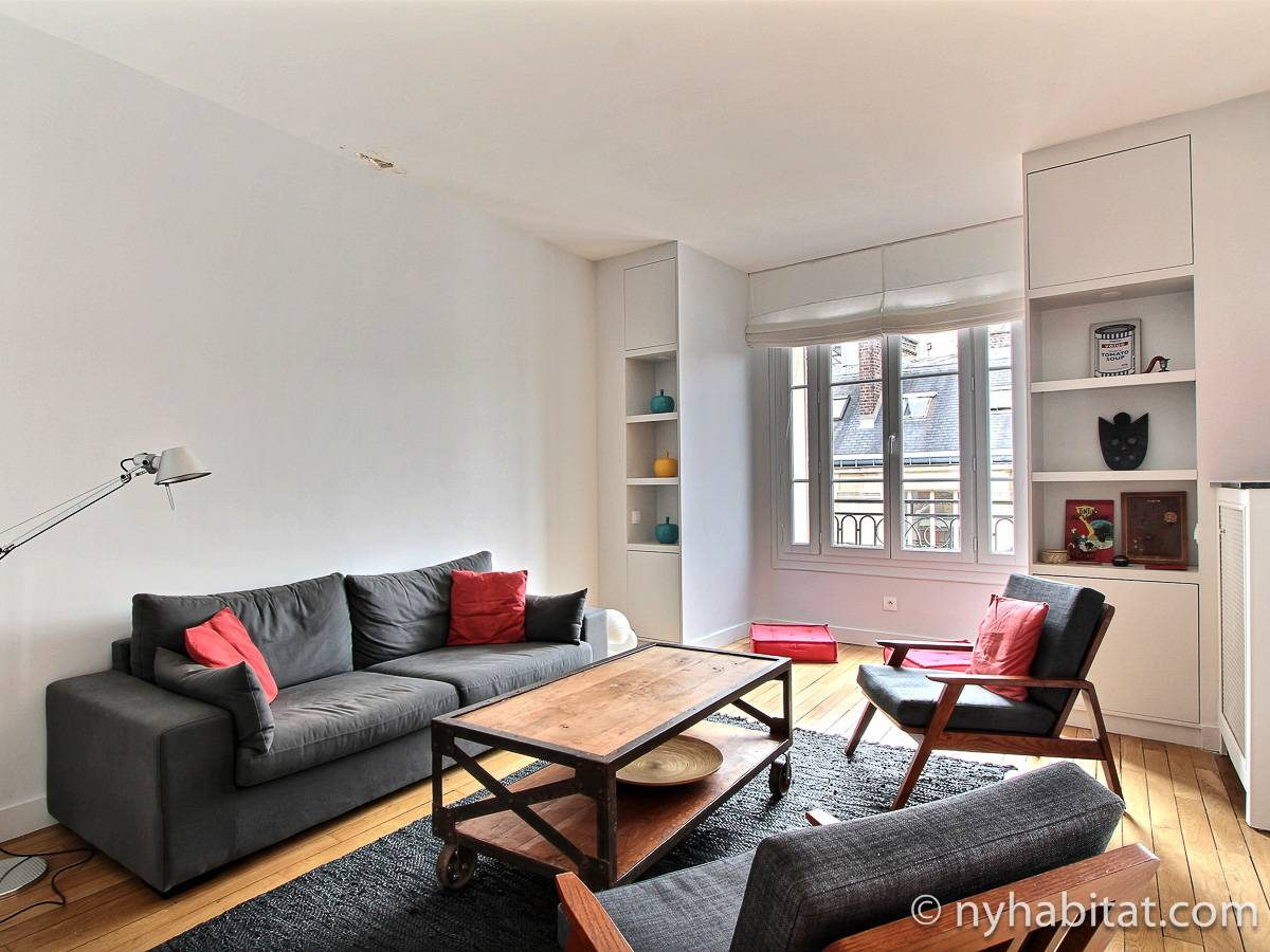 Paris 1 Bedroom Apartment Reference Pa 4763 Sleeps 2 Furnished Rental