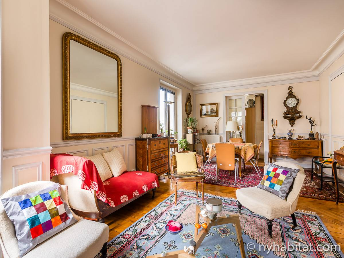 Paris - 2 Bedroom accommodation - Apartment reference PA-4767