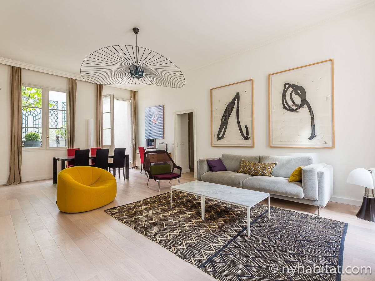 Paris - 3 Bedroom accommodation - Apartment reference PA-4768