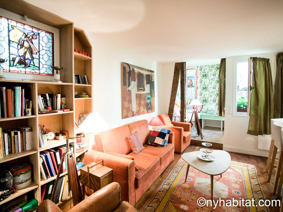 Paris - 1 Bedroom accommodation - Apartment reference PA-4777
