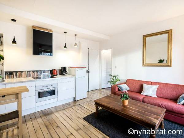 Paris - 1 Bedroom accommodation - Apartment reference PA-4778