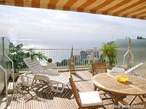 South of France Eze sur Mer, French Riviera - Studio accommodation - Apartment reference PR-806