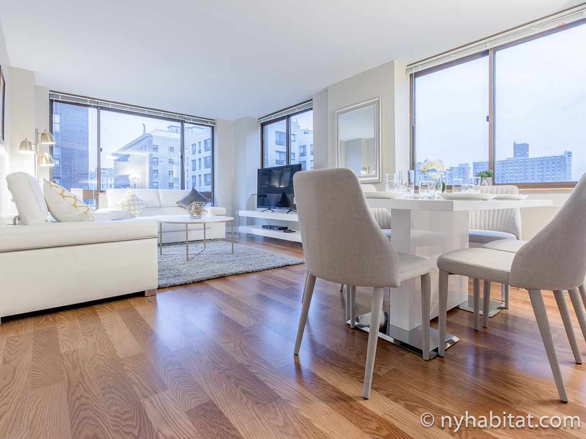 Apartment photo: An example of our corporate housing options in New York