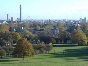 Escape de la ciudad en Regent´s Park, Londres