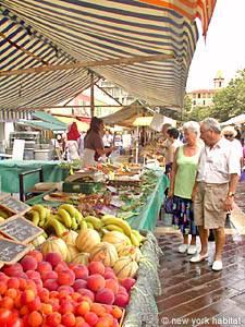 Mercado en Niza, Francia