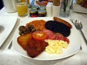 Desayuno inglés completo