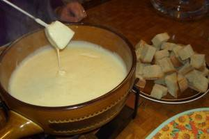 Nada mejor que una fondue para calentarse en París
