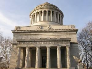 Fotografía de la tumba del general Ulysses S. Grant en Nueva York