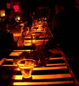 Foto del bar en el Joe's Pub