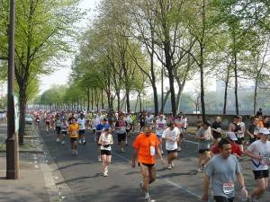 La maratón de París