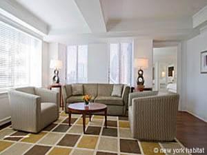 Apartamento de 2 dormitorios en Midtown East (NY-12498)