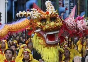 Desfile del año nuevo chino en París