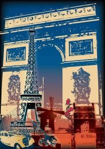 Reciba el nuevo año en París