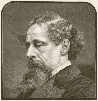 Retrato de Charles Dickens