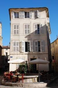 Una Plaza en Aix-en-Provence, Sur de Francia