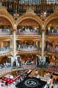 Las Galerías Lafayette, París