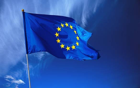 Imagen de la bandera de la Unión Europea