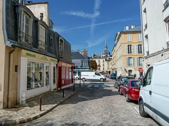 Imagen de Saint Louis en la ciudad de Versalles