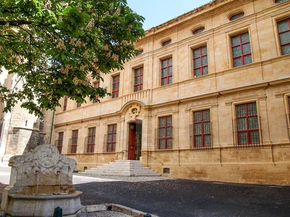 Fotografía del museo Musée Granet en Aix-en-Provence