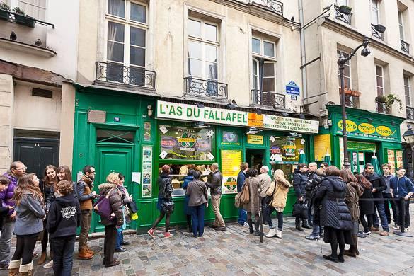 Fotografía de L'As du Falafel, en Le Marais