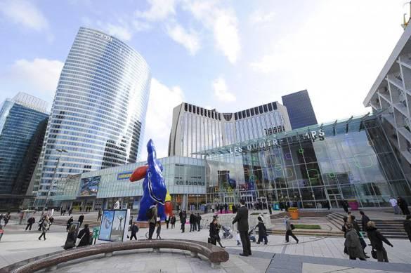 Fotografía del centro comercial Les 4 Temps en París