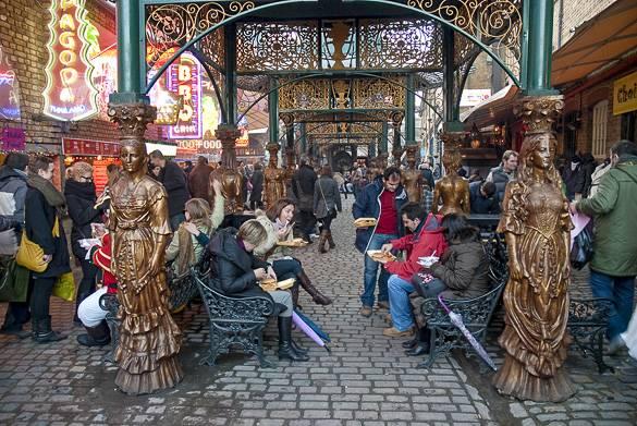 Fotografía del Stables Market en Camden, Londres