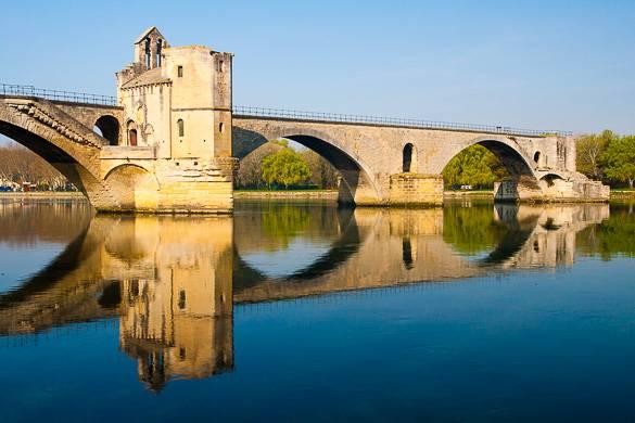 Fotografía del Puente de Aviñón
