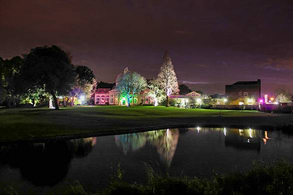 Imagen de Syon Park, en Londres, y su bosque encantado