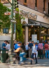 Imagen del Shake Shack en el Upper West Side de Manhattan