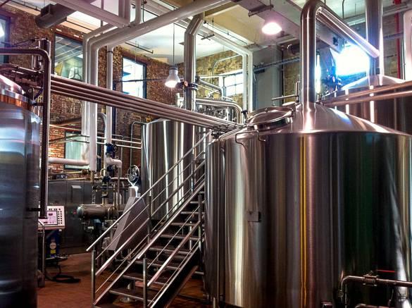 Imagen de la fábrica de cerveza de Brooklyn