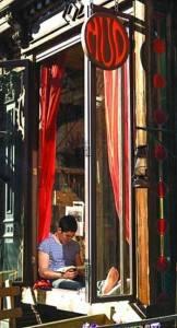 Fotografía de la cafetería MUD de East Village.